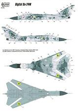 Authentic Decals 1/72 DIGITAL FENCER Ukranian Sukhoi Su-24M in Digital Camoflage