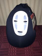 Studio Ghibli Spirited Away No Face Plush Neck Pillow Convertible New