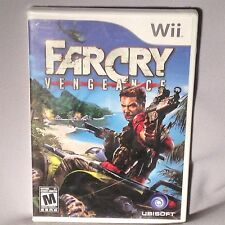 GAME Wii Farcry Vengeance ORIGINAL NEW MINT SEALED