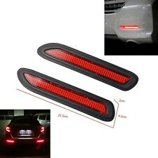 Universal Car Bumper Brake Fog Warning Light LED Avoiding Corner Collisions 5W