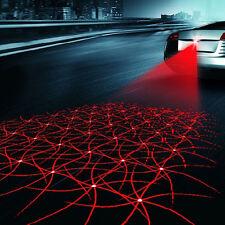 Rear-end Laser Tail Fog Light Auto Brake Parking New Anti Collision Warning Lamp