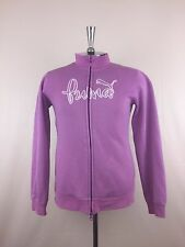 Puma Women Size Pink Sweater Jacket Training Workout
