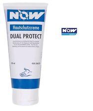 12 x Hautschutzcreme NOW Dual Protect Inhalt 200ml ohne Duft-und Farbstoffe Tube
