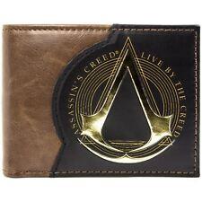 Assassins Creed Live By The Creed Braun Portemonnaie Geldbörse