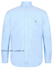 Ralph Lauren Polo Mens Blue Classic Fit Oxford Shirt S-XXL RRP £100 GENUINE!