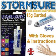 Storm Sure Flexible Repair Adhesive Glue Clear - 15g