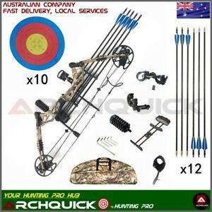Compound Bow 20-60lbs Archery Bow Hunting Target Shooting Right / Left Handed
