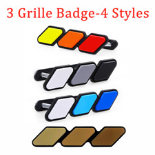 New For Toyota Tacoma 4Runner Tundra Tri-color 3 Grille Badge EMBLEM EOA HOT