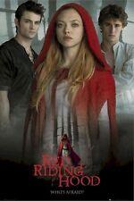RED RIDING HOOD ~ TRIO 24x36 MOVIE POSTER Amanda Seyfreid NEW/ROLLED!