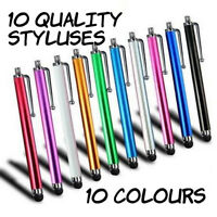 5/10Pcs Pack Touch Screen Stylus Pen For Samsung Galaxy/Kindle Tablet 10 Colors