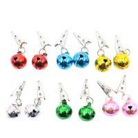 Beard Ornaments, Beard Baubles, 12Pcs Colorful Christmas Facial Hair Bauble J7V8