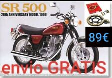 YAMAHA SR 500 1978 /> 1990 KIT CADENA CORONA PIÑON PBR EK PASO 530