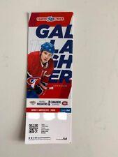 unused season hockey tickets Canadiens featuring Brendan Gallagher Jan5 20182019