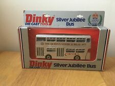 DINKY SILVER JUBILEE BUS #297 RARE VINTAGE MODEL