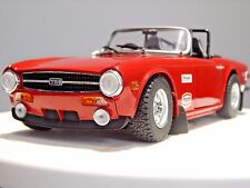 "1/18 TRIUMPH TR6  MODIFIED CODE 3 TUNING UMBAU ""ANDREW GREEN"" RACE RALLY TRACK"