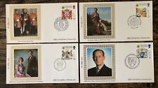 British Royalty Benham First Day Cover - 1987 Limited Edition X 4