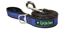 Cycle Dog Recycled Max Reflective Dog Lead With Bottle Opener, 122cm - Blue