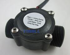 "G3/4"" Water Flow Hall Sensor Switch Flow Meter Flowmeter Counter 1-60L/min"