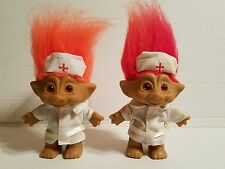 Lot of 2 Russ Troll Nurses 4.5 Inches