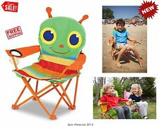 Child Toddler Seat Folding Chair Armchair Kid Portable Camp Travel Beach Outdoor