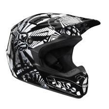 Fox Racing V2 Camplosion Off Road MX Helmet Black White XSmall XS