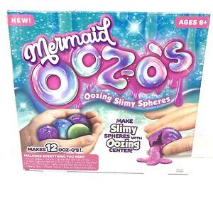 Mermaid Ooz-o's Horizon Group Mermaid Oozing Slimy Spheres 6+ New In Box Craft