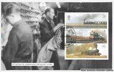 "Gb 2004 Dx32 ""Letters by Night"" Prestige Booklet Pane (2),2418a/Wp1627.Used/Fdi"