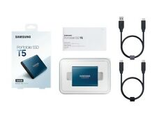 Samsung T5 500GB,External, 2.5 inch (MU-PA500B/AM) Solid State Drive