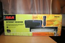 Vintage RCA Internet Receiver Microsoft WEBTV Plus RW2110 NEW IN OPEN BOX NIOB