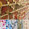 Circle Round Paper Garland Banner Polka Dot Bunting Wedding Party Decor Colorful