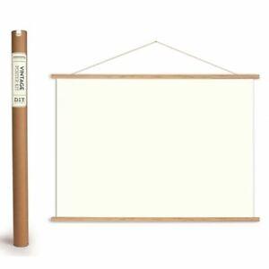 Cavallini Vintage Poster Kit - Horizontal - DIY Poster / Chart Hanging Kit