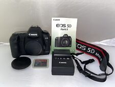 Canon EOS 5D Mark II 21.1 MP Digital SLR Camera - Black High Shutter