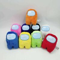 10/20CM Soft Plush Colorful Crewmate Plushie Toys Games Doll Among Originals us
