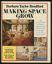 Barbara Taylor BRADFORD / Making Space Grow Signed 1st Edition 1979