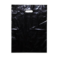 300 Assorted Large Plastic Carry Bags Bag 500 x 380mm White or Black colours