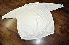 Lagenlook Big-Ballon-Pulli Kragen WHITE Jersey 46,48,50,52,54,XXL,XXXL,XXXXL