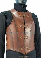 Vintage Veterans Leather Body Armour Halloween Warrior replica LARP Full size