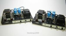 Pair Vintage Heathkit AA-91 Monoblock Tube Amplifiers / EL-34 -- KT