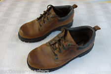 SKECHERS Men's 6618 Tom Cats Brown Lace-Up Utility Work Task Oxfords -- Size 7.5