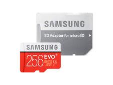 Carte Mémoire Samsung Micro SDXC Evo+ 256 Go/Gb Class 10 UHS avec Adaptateur SD