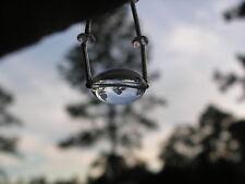 ...Silver Tone,Rock Crystal Quartz Necklace...