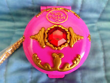 RARE VINTAGE POLLY POCKET BLUEBIRD JEWELED PALACE WITH CHAIN NEW W/O PACKAGE