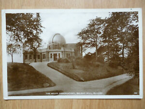 1938 THE MILLS OBSERVATORY DUNDEE