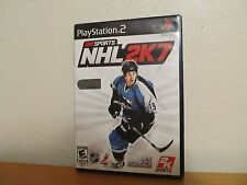2K SPORTS NHL 2K7 PS2 Playstion 2 - Great Condition with Manual