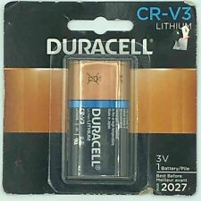 Duracell CR-V3 Ultra Lithium Battery Expires March 2027