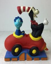 1997 Dr. Suess Cat In The Hat Hard Plastic Piggy Bank