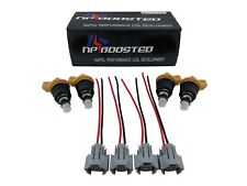 550cc 555cc Fuel Injectors Side Feed for Impreza WRX STi Forester Legacy Outback