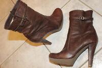 UNISA High Heel Plateau Stiefel Blogger getragen Vintage Designer Boots Sammler