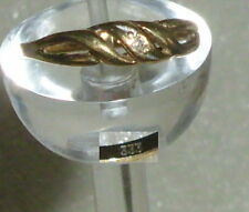 Anello in oro 333er con Diamante 0,02 ct., Tg. 52 Ø 16,6 mm (da3912)