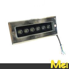 Calpestabile faretto da esterno IP67 rettangolare da incasso LED 5W luce FREDDA